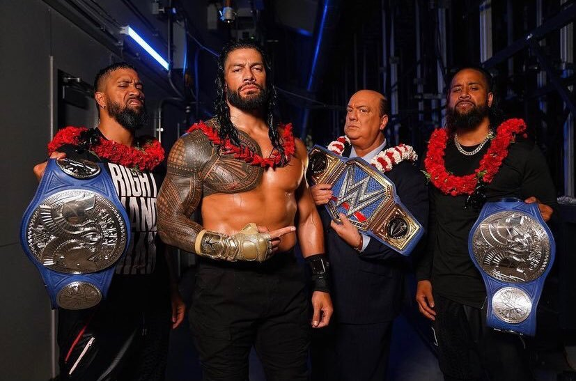 The Bloodline with Reigns and the Usos