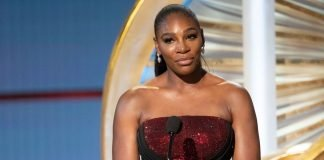 "Serena Williams introduces ""A Star is Born"""
