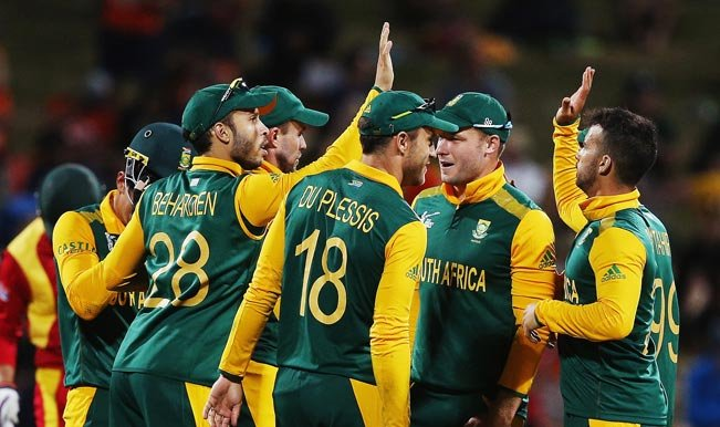 players in the South African cricket team