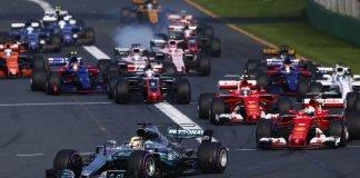 2018 F1 cars