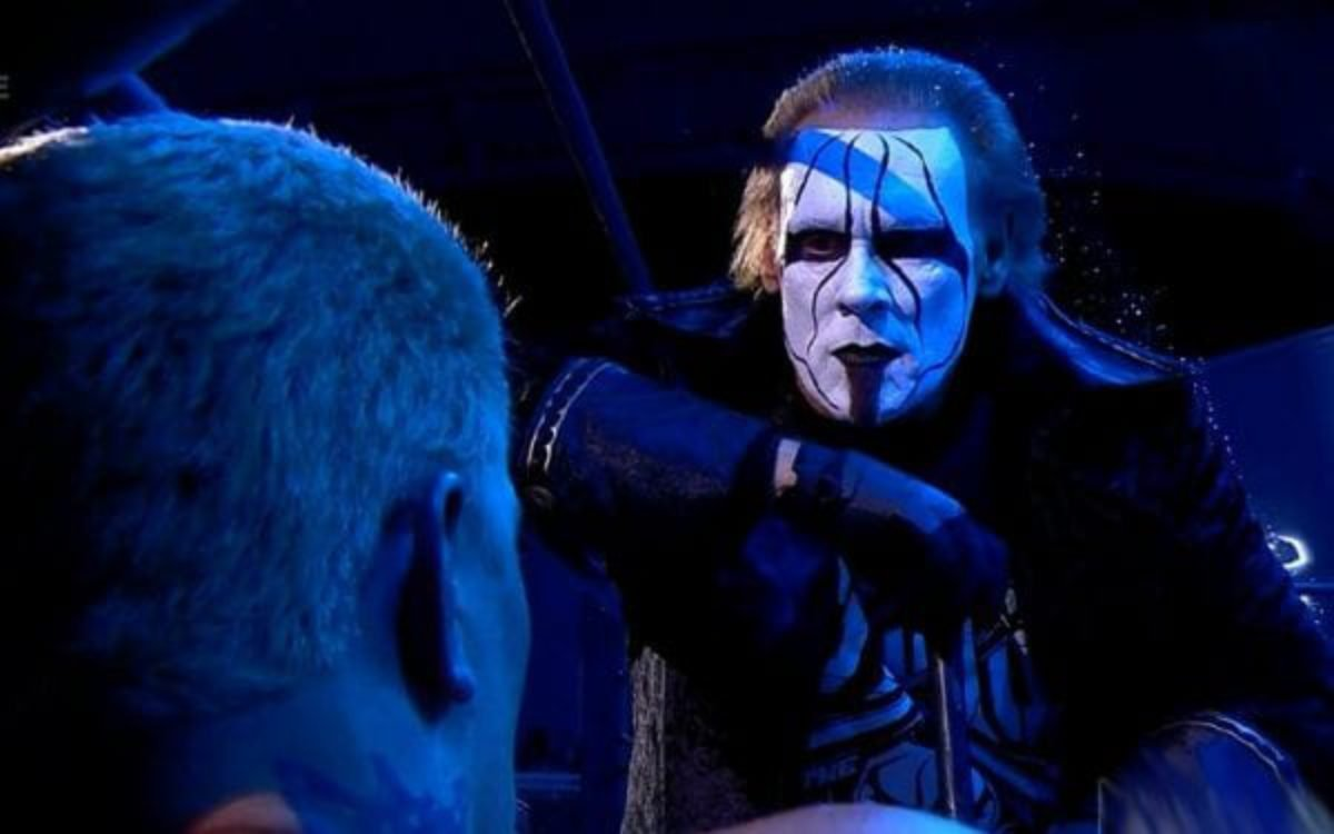 BREAKING: Sting Makes A Stunning AEW Debut On Dynamite - EssentiallySports