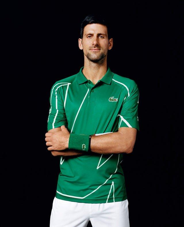 Outfit Revealed For Novak Djokovic For Australian Open 2020