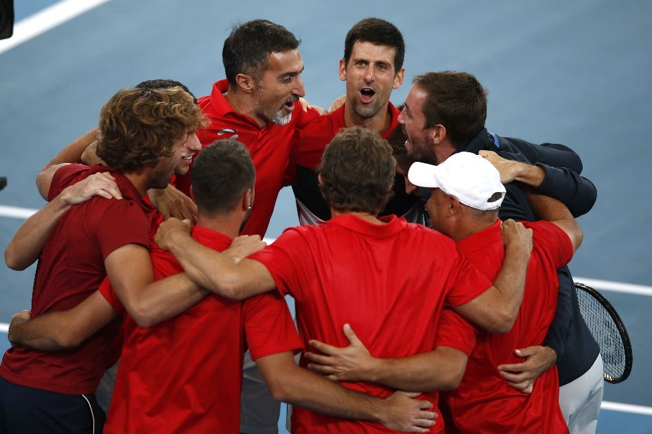 Twitter Erupts As Novak Djokovic Carries Serbia To Atp Cup Victory Against Rafael Nadal S Spain Essentiallysports
