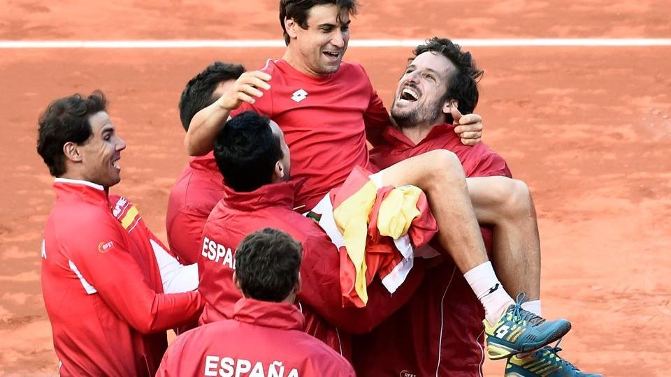 David Ferrer and Davis Cup Victory of Spain