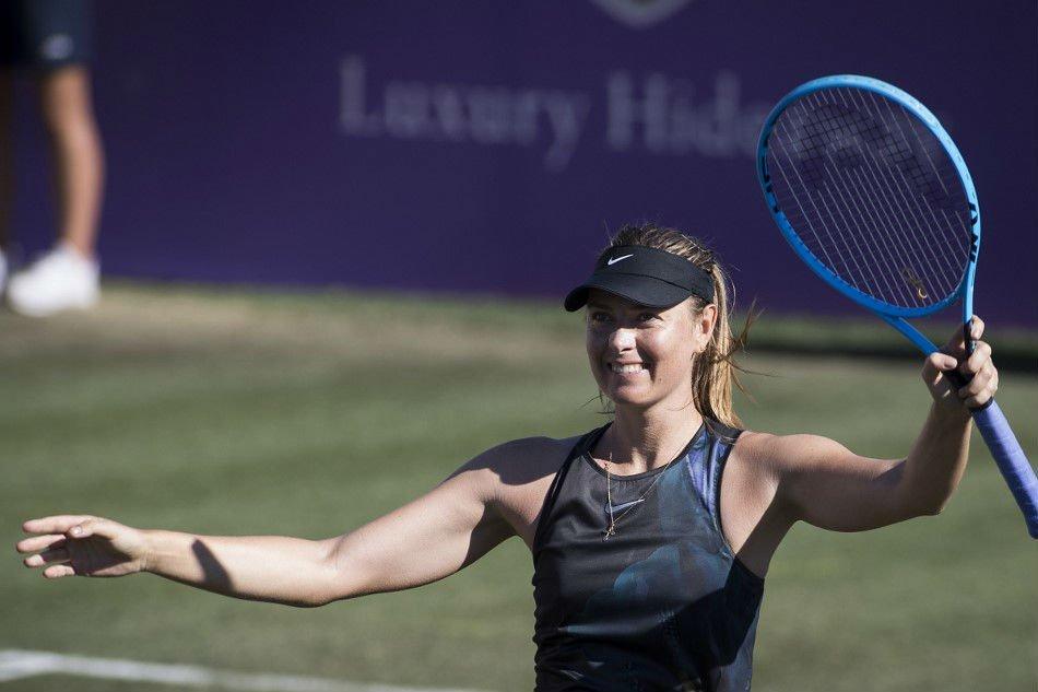 Maria Sharapova makes winning return at Mallorca Open