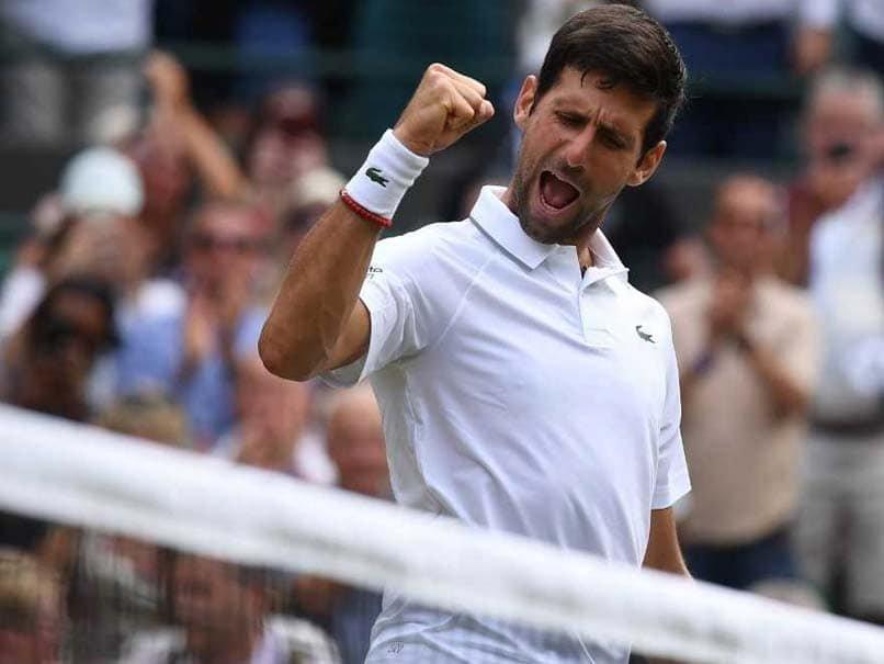 Novak Djokovic Reaches The Finals at Wimbledon Championships 2019