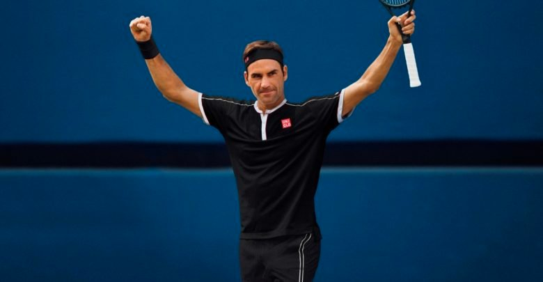 Roger Federer Reveals Why He Chose Black Outfit For The Us