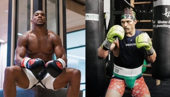 Oleksandr Usyk Spills the Beans on His Training Camp for Anthony Joshua