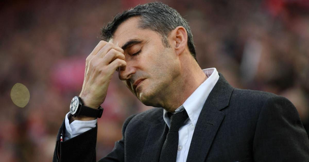 FC Barcelona Sack Ernesto Valverde - EssentiallySports