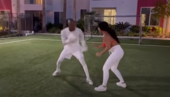 VIDEO: Does Yordenis Ugas Train With His Girlfriend?