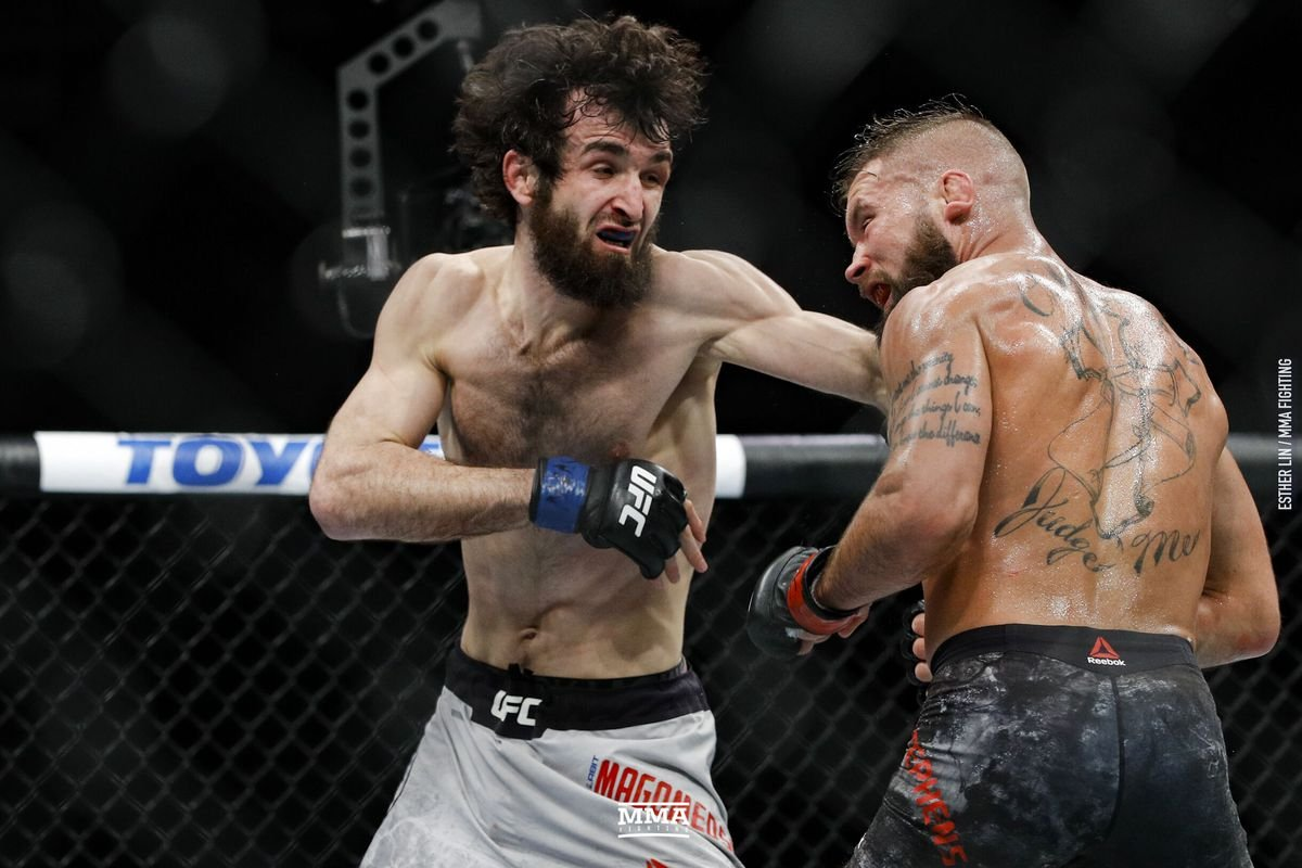 Zabit Magomedsharipov vs Calvin Kattar